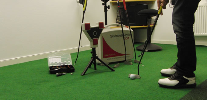 Science and Motion Putt Lab